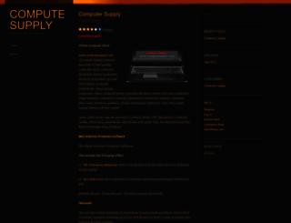 computesupply.wordpress.com screenshot