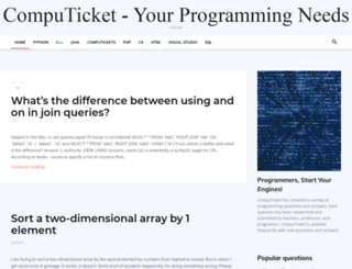 computicket.co.za screenshot