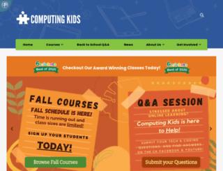 computingkids.com screenshot