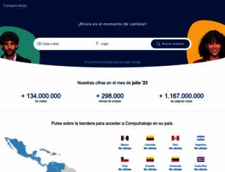 computrabajo.com screenshot