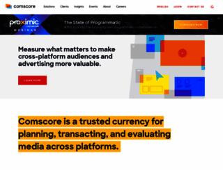 comscore.com screenshot
