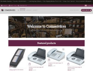 comservices.nl screenshot