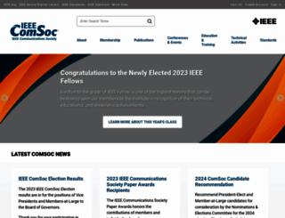 comsoc.org screenshot