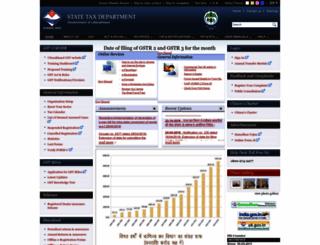 comtax.uk.gov.in screenshot