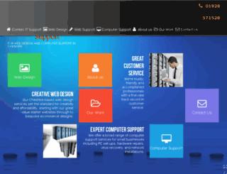 comtecwebdesign.co.uk screenshot