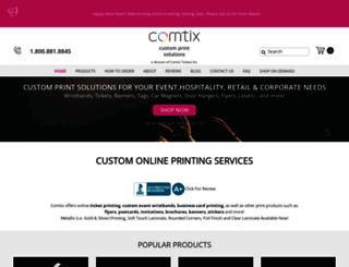 comtix.com screenshot