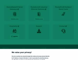 comtrol.com screenshot