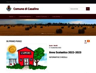 comune.casalino.no.it screenshot