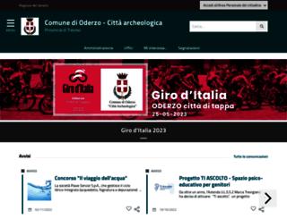 comune.oderzo.tv.it screenshot