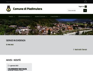 comune.piedimulera.vb.it screenshot