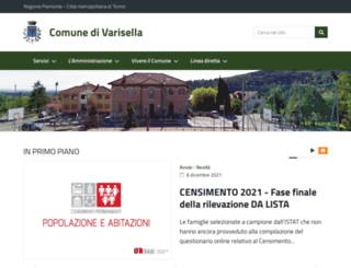 comune.varisella.to.it screenshot
