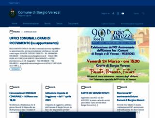 comuneborgioverezzi.it screenshot