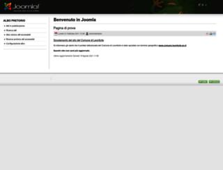 comuneleonforte.it screenshot