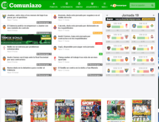 comuniazo2014.com screenshot