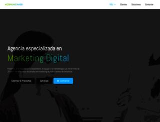 comunica-web.com screenshot