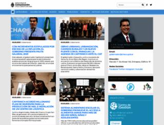comunicacion.chaco.gov.ar screenshot