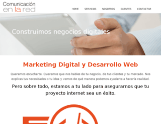comunicacionenlared.es screenshot