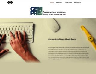 comunicacionenmov.com screenshot