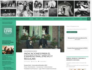 comunicacionycritica.wordpress.com screenshot