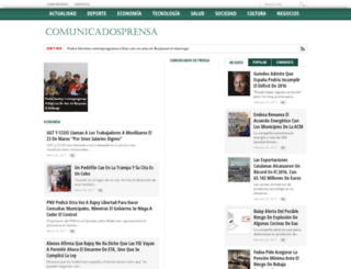 comunicadosprensa.org screenshot