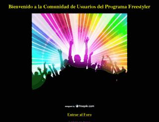 comunidad-freestyler.com screenshot