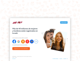 comunidad.abrelaboca.com screenshot
