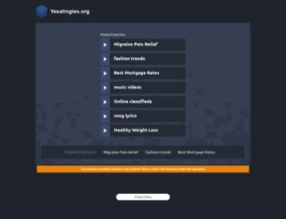 comunidades.yesalingles.org screenshot