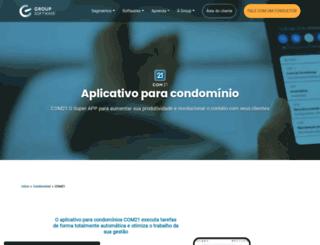 comunidades21.com.br screenshot