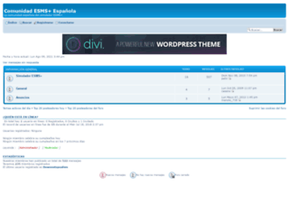 comunidadesms.foroactivo.com screenshot