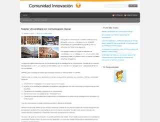 comunidadinnovacion.wordpress.com screenshot