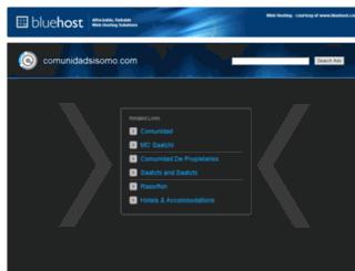 comunidadsisomo.com screenshot