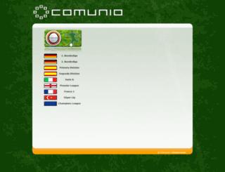 comunio.pt screenshot