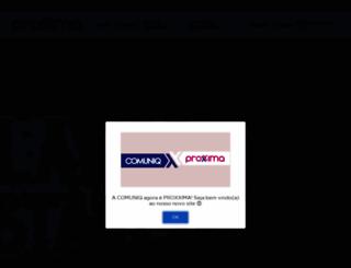 comuniq.net.br screenshot