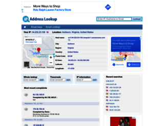 comwww.ip-address-lookup-v4.com screenshot