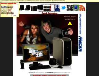 comx.co.za screenshot