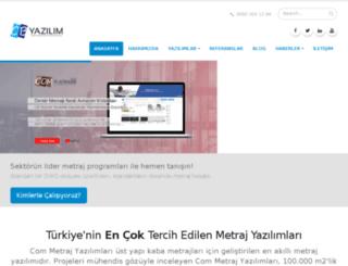 comyazilim.com screenshot