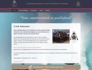 comzoetermeer.nl screenshot