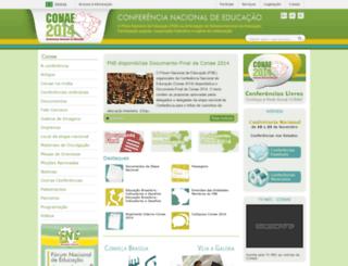 conae2014.mec.gov.br screenshot