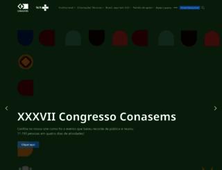 conasems.org.br screenshot