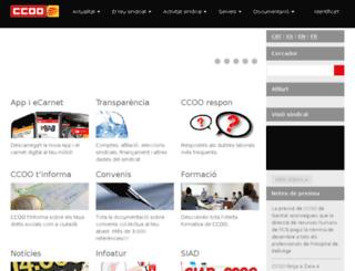 conc.ccoo.cat screenshot