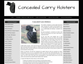 concealed-carry-holsters.net screenshot