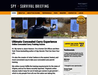 concealedcarryacademy.com screenshot