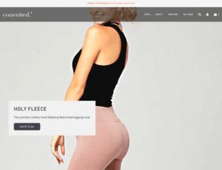 conceitedco.com screenshot