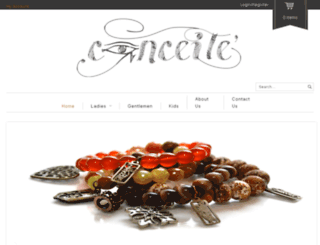 conceitejewelry.com screenshot