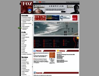 concellodefoz.es screenshot