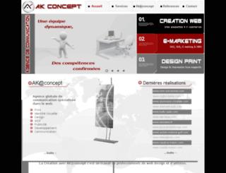 concept-ak.com screenshot