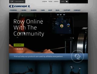 concept2.co.uk screenshot