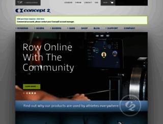 concept2.com screenshot