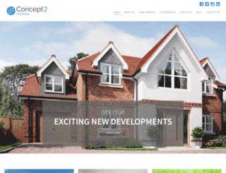 concept2group.com screenshot