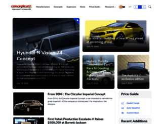 conceptcarz.com screenshot